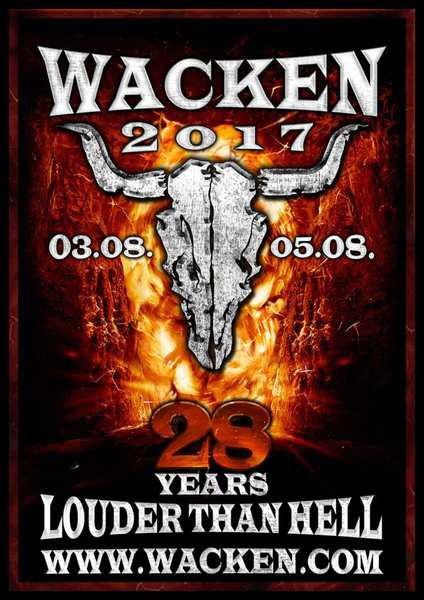 Концерт Wacken Open Air 2017 (Wacken, Germany)