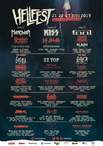 Концерт Hellfest Open Air 2019 - 21,22,23 Июня, Clisson, France