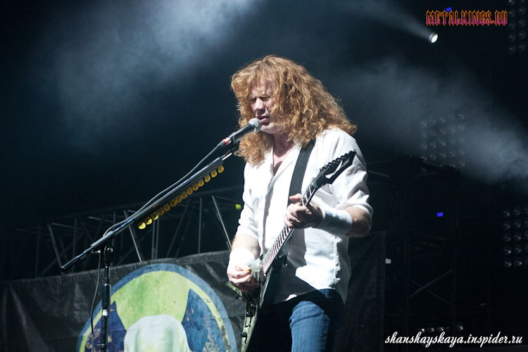 Фотография с концерта Megadeth 2012-06-25, Москва, Adrenaline Stadium,
