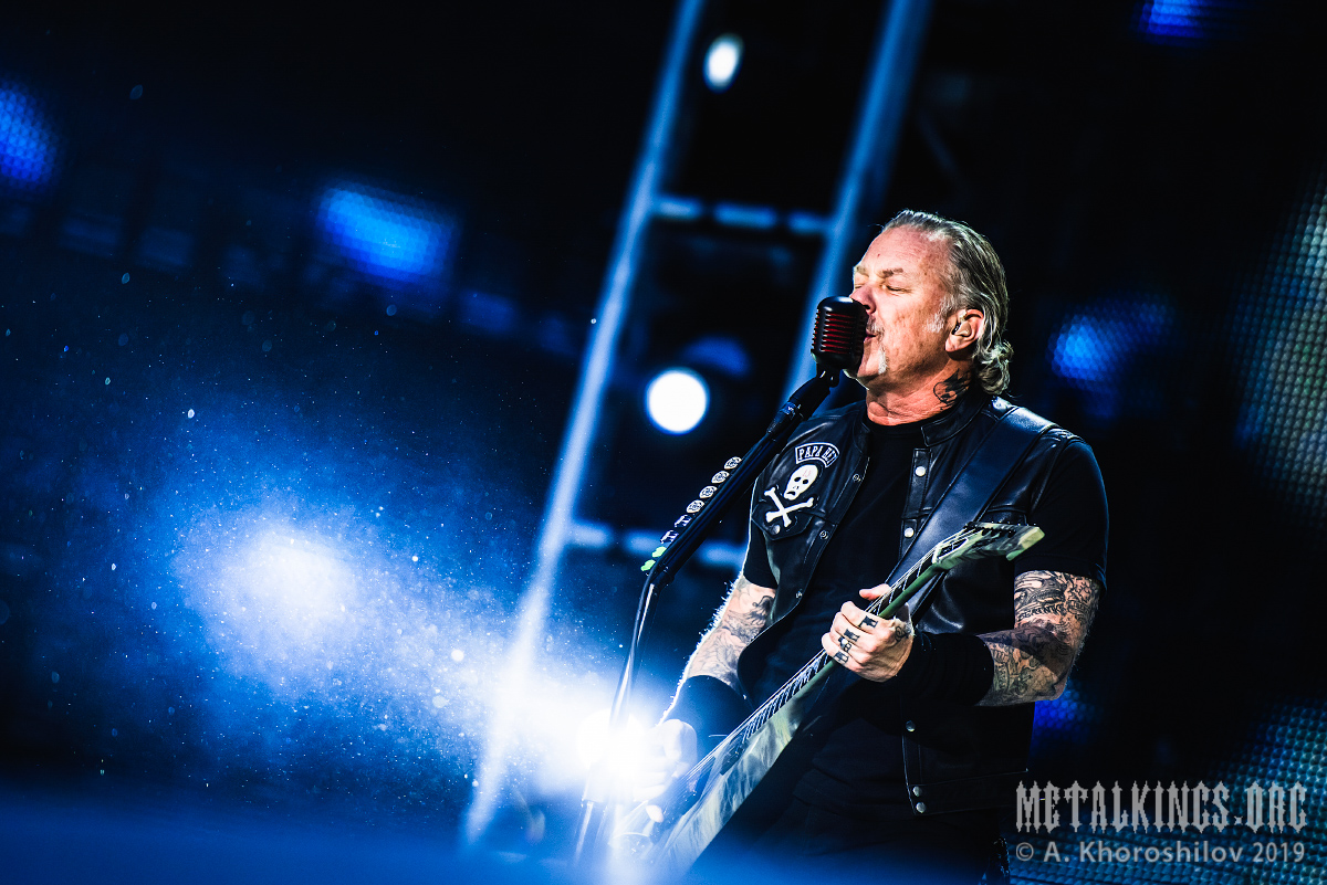 Фоторепортаж с концерта Metallica 2019-07-21, Москва (МСК
