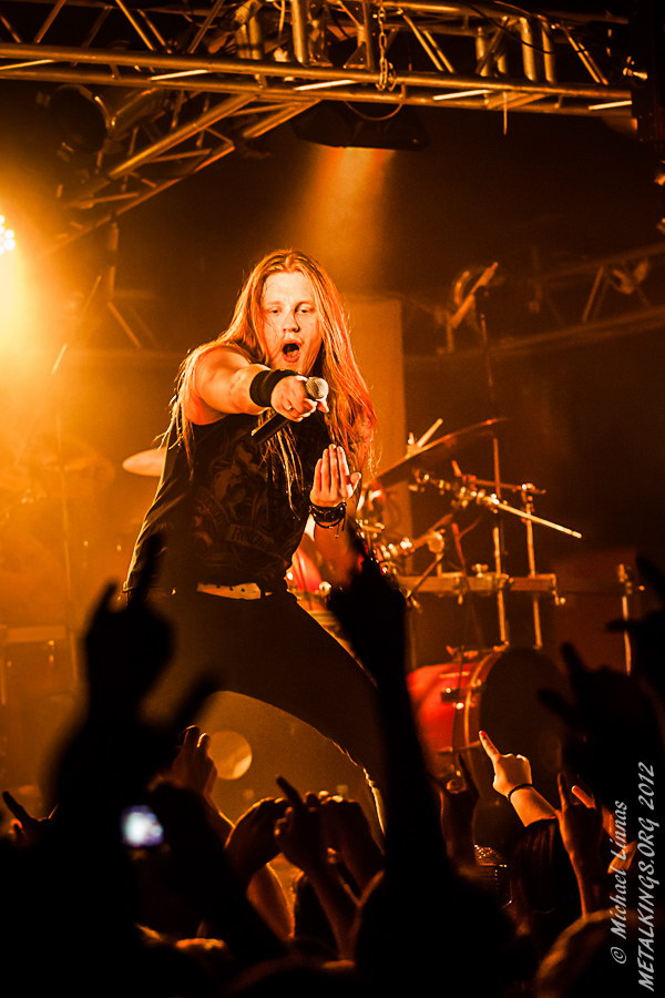Фотография с концерта Dragonforce 2012-12-07, Санкт-Петербург, Клуб