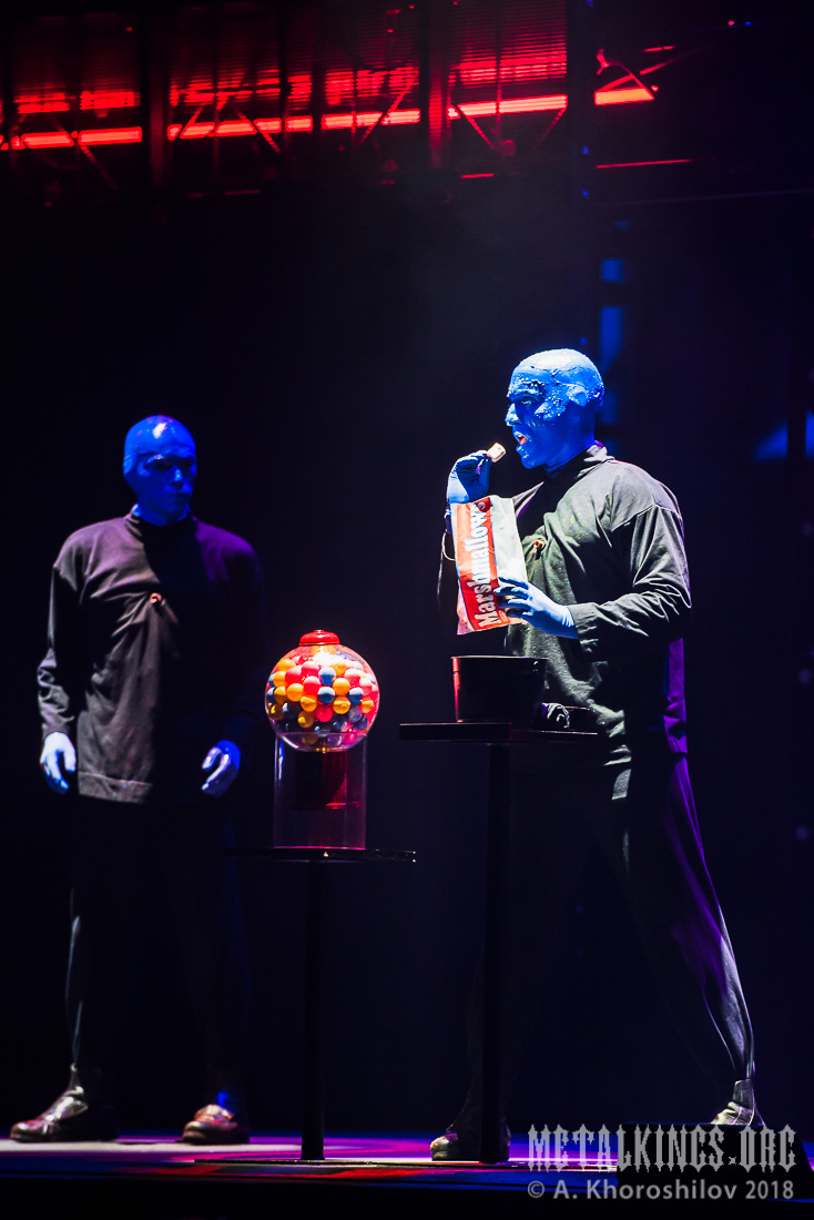 8 - Blue Man Group