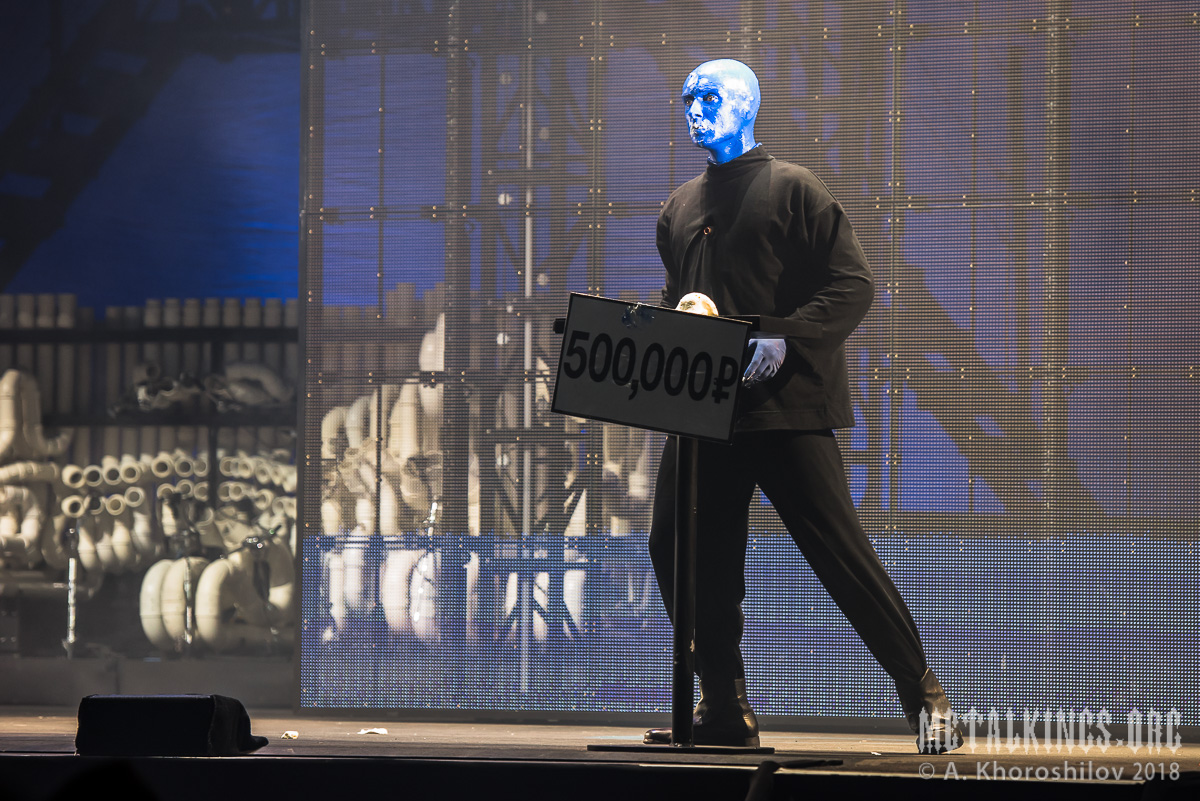 28 - Blue Man Group