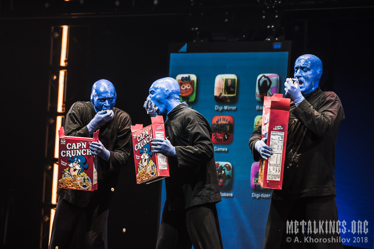 50 - Blue Man Group
