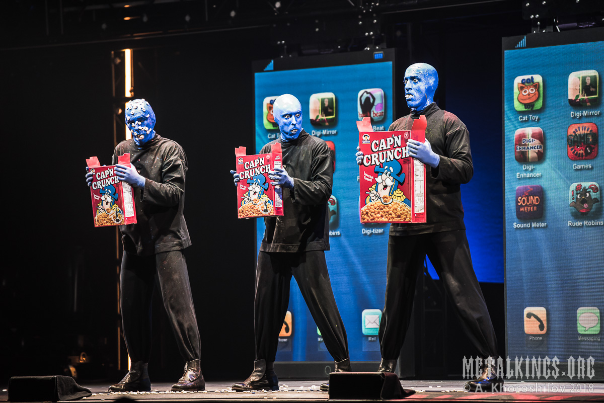 53 - Blue Man Group