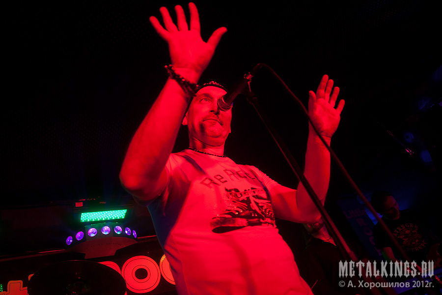 Фотография с концерта ЛЕГИОН 2012-12-28, Москва, Little Rock Club,