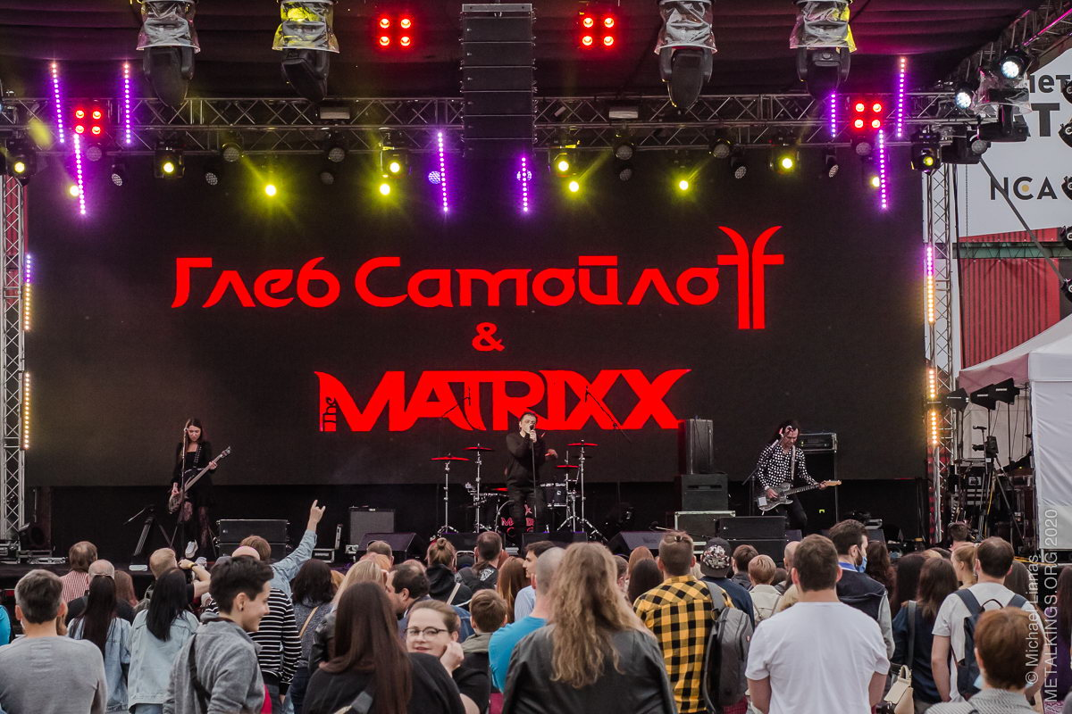 32 - Глеб Самойлоff  and the Matrixx