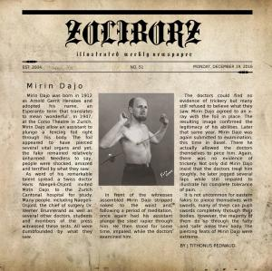 Zoliborz - 'Mirin Dajo' (Single, 2016)